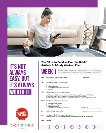 How to Build an Exercise Habit: A Free 8-Week Workout Plan
