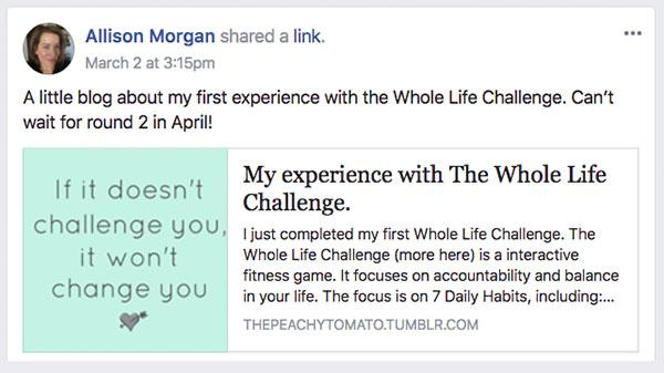Allison Morgan Testimonial