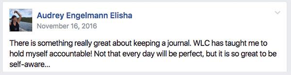 Audrey Elisha Testimonial