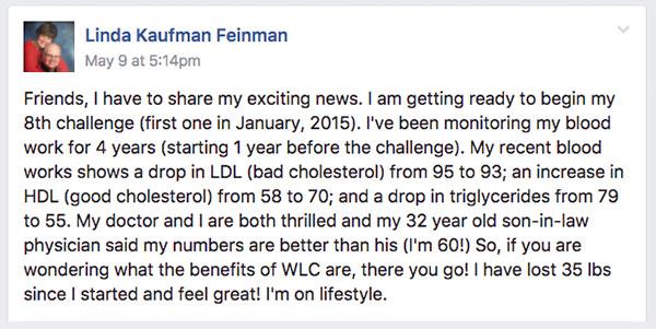 Linda Feinman Testimonial