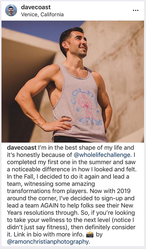 Dave Coast Testimonial